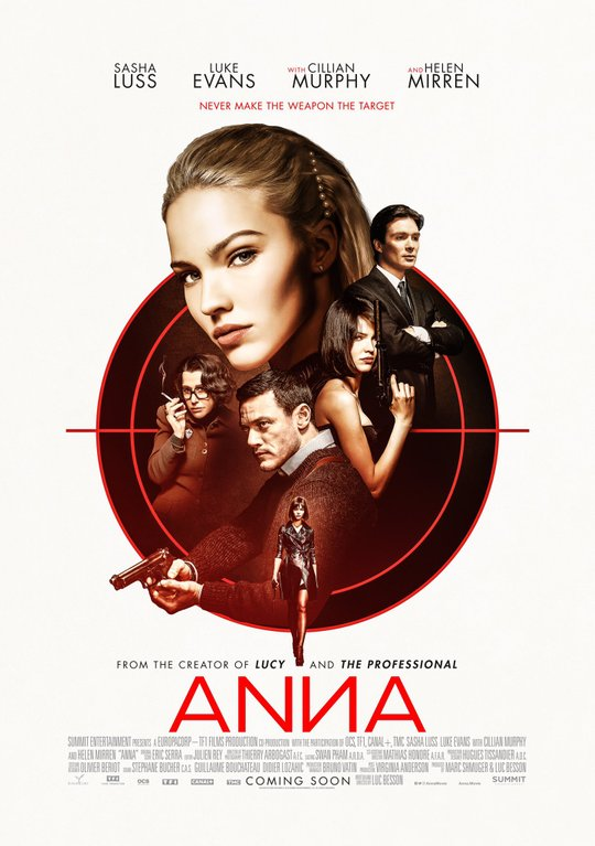Luc Besson's 'Anna' Poster