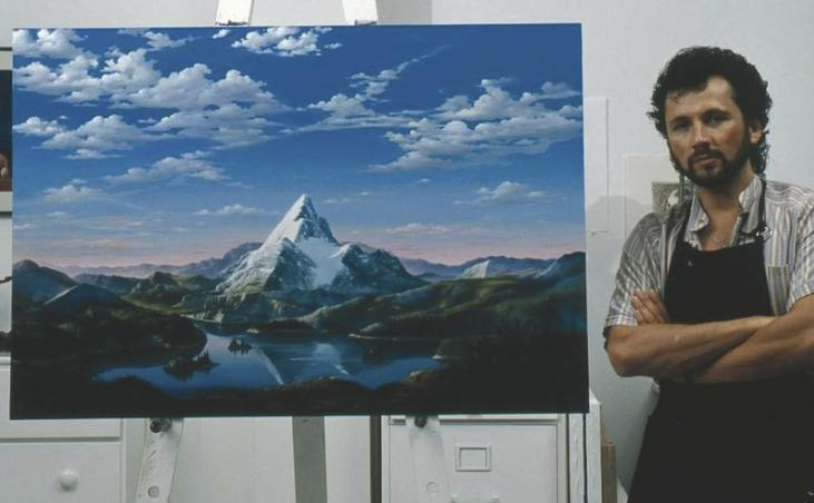Paramount Pictures Logo Painting