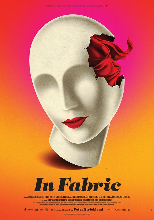 'In Fabric' Poster