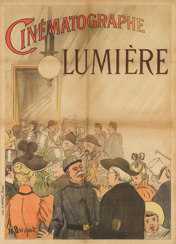 World's First Movie Poster Advertising for a Lumiere Brothers Screening