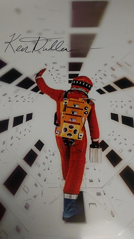 '2001: A Space Odyssey' Signed Poster
