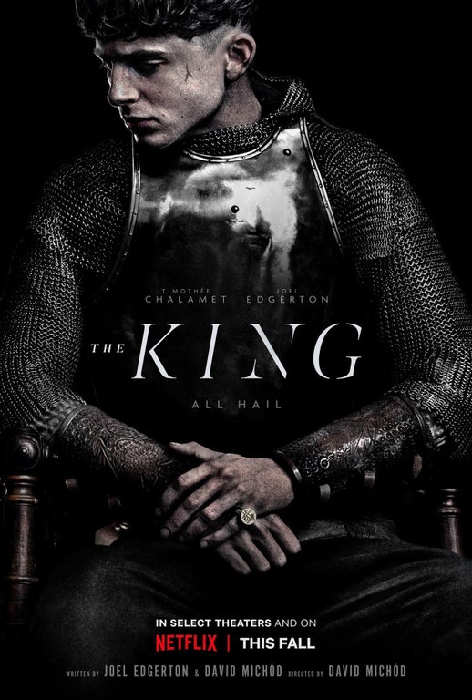 'The King' Netflix Movie Poster