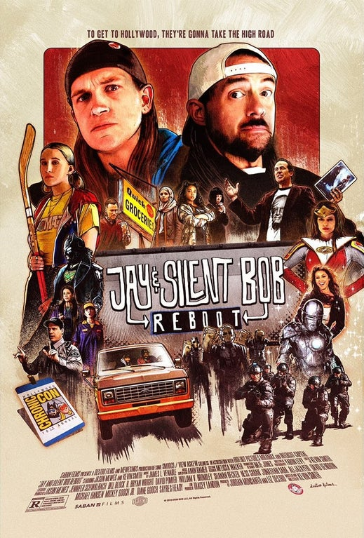 'Jay and Silent Bob Reboot' Movie Poster