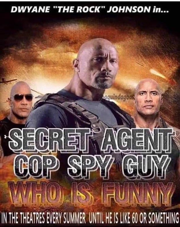 The Rock Movie Starring The Rock