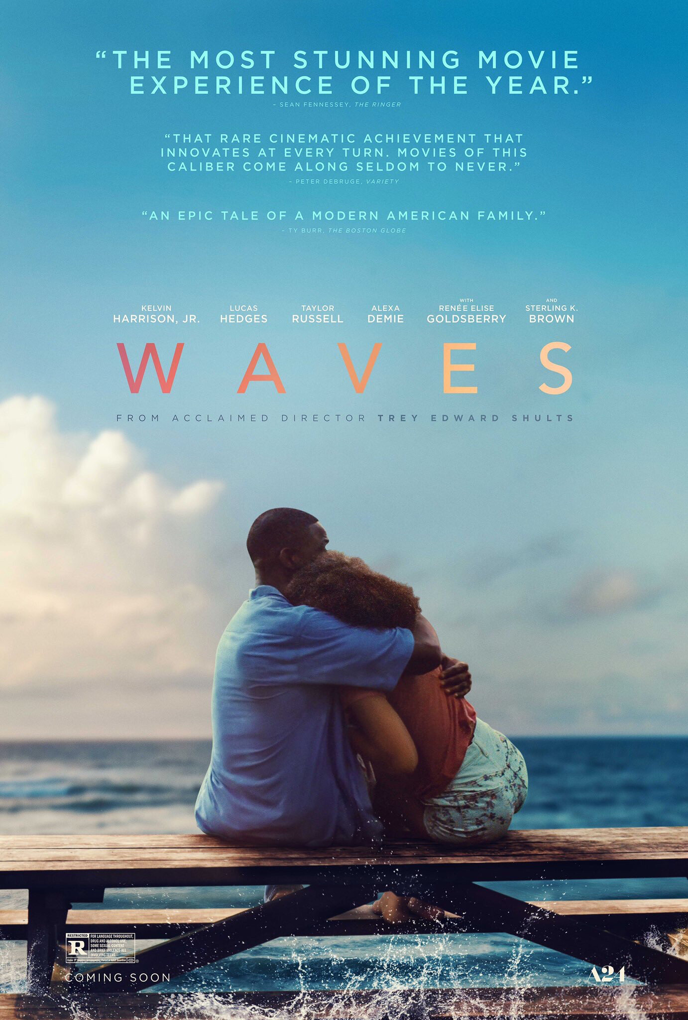 A24's 'Waves' Poster