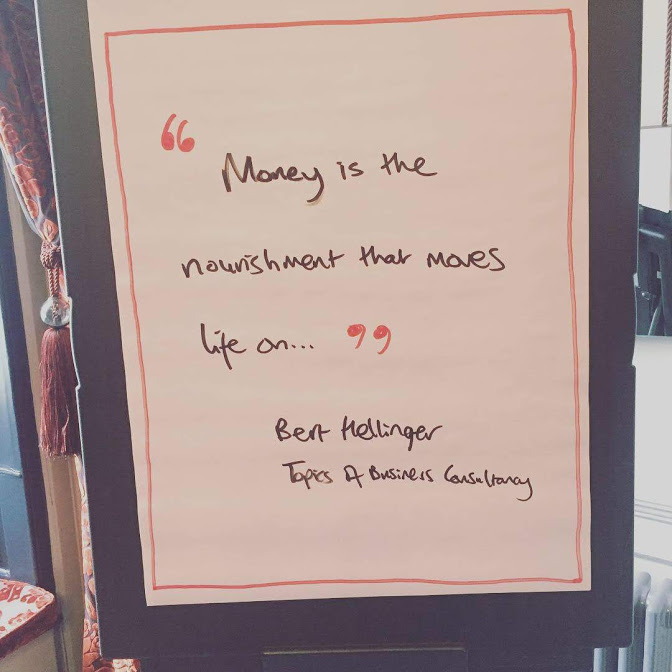 Quote I liked: from the workshop in Chester - September, 2018.