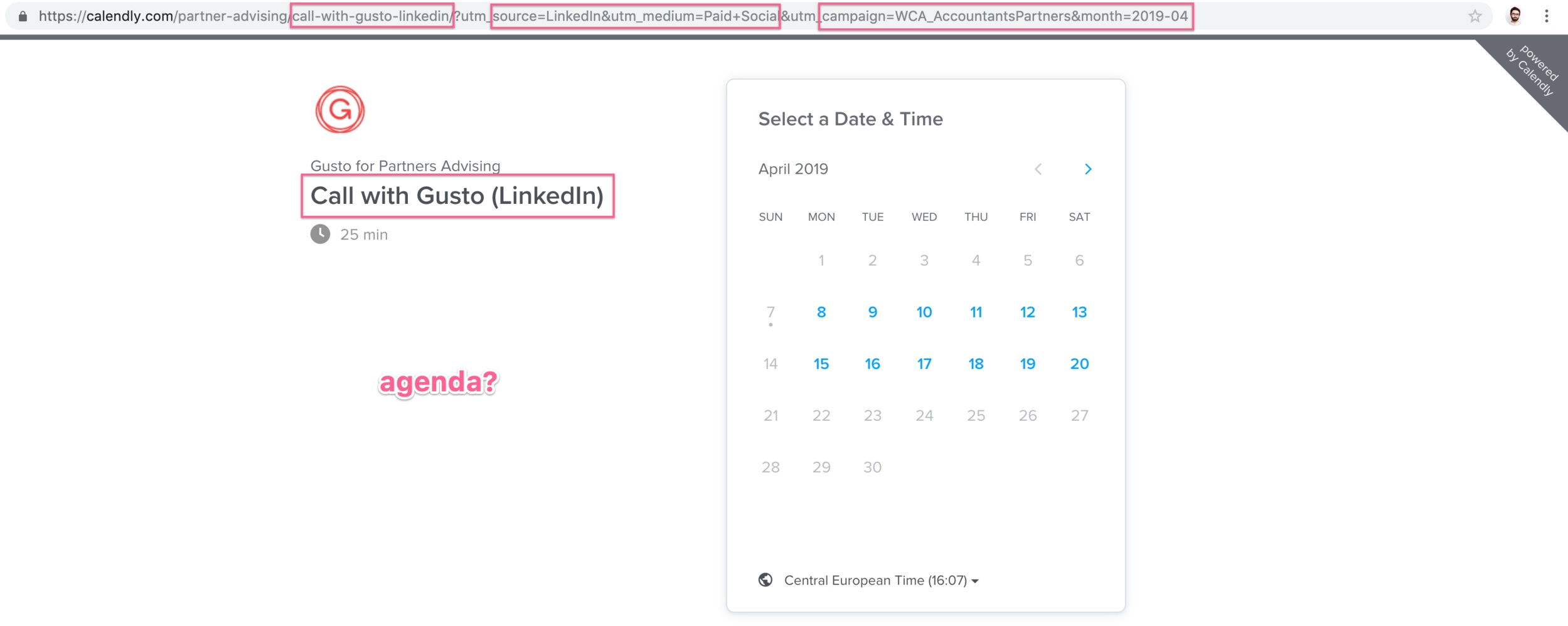 gusto+calendly+landing+page