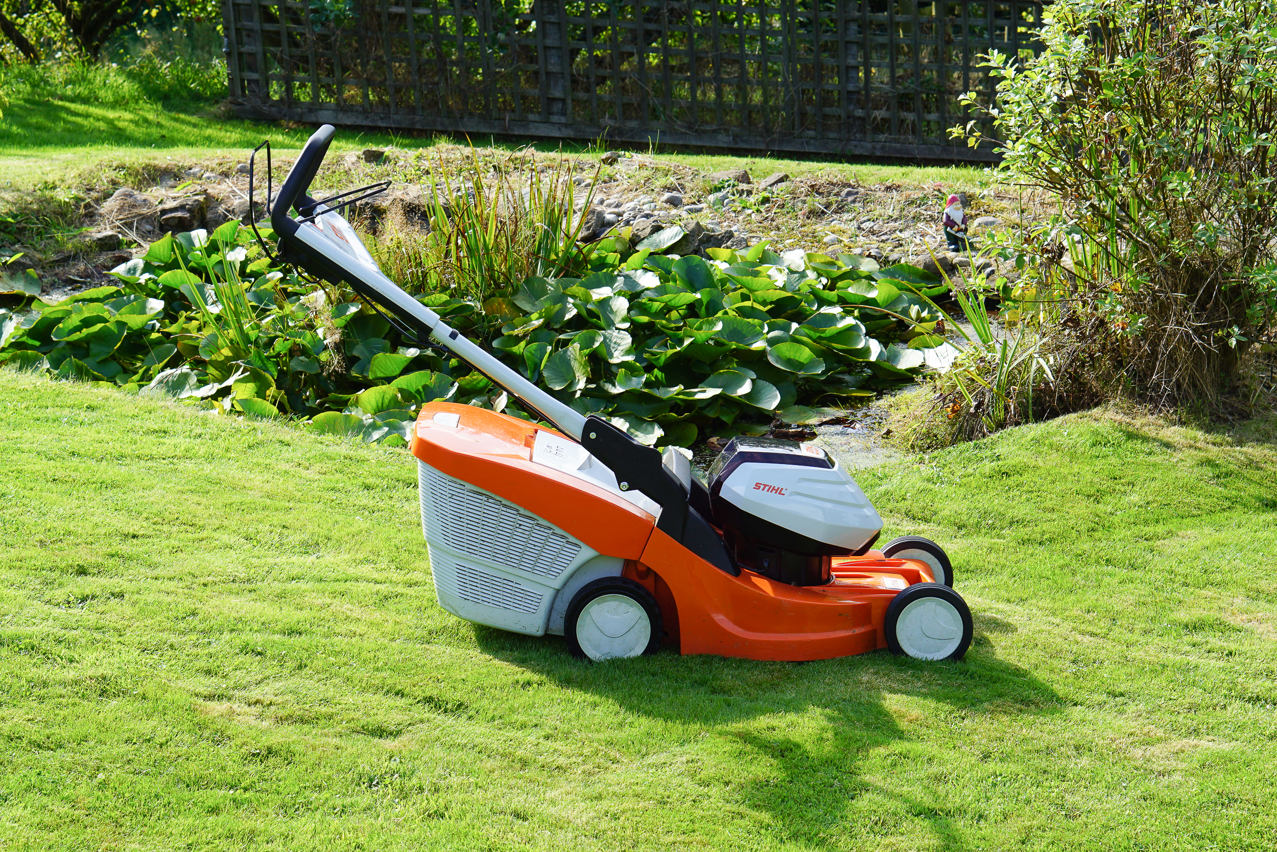 Stihl RMA 448 TC lawn mover review