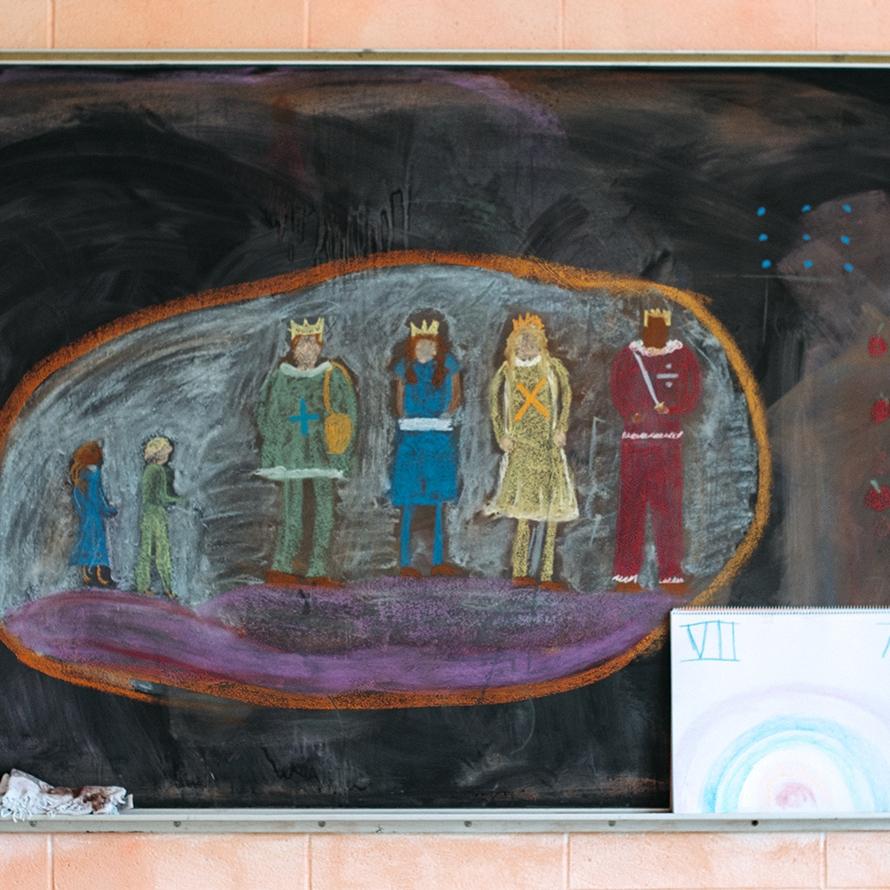 waldorf first grade math chalkboard.jpg