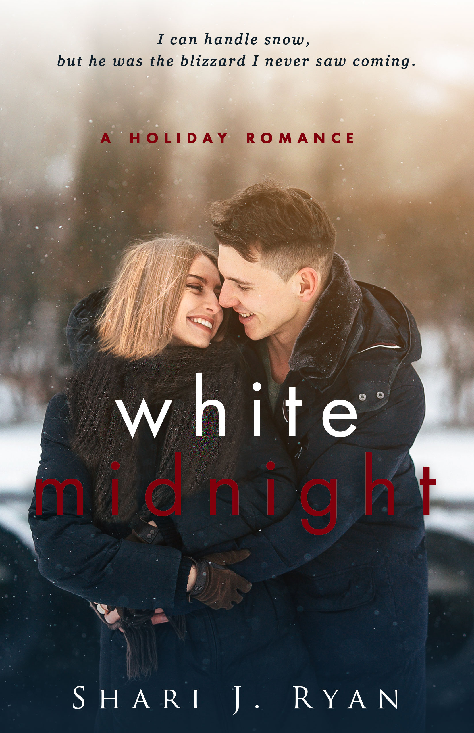 Cozy love - White Midnight is on sale for only 99 cents, so if you want something to warm up to, it's a sweet romance. Grab it!