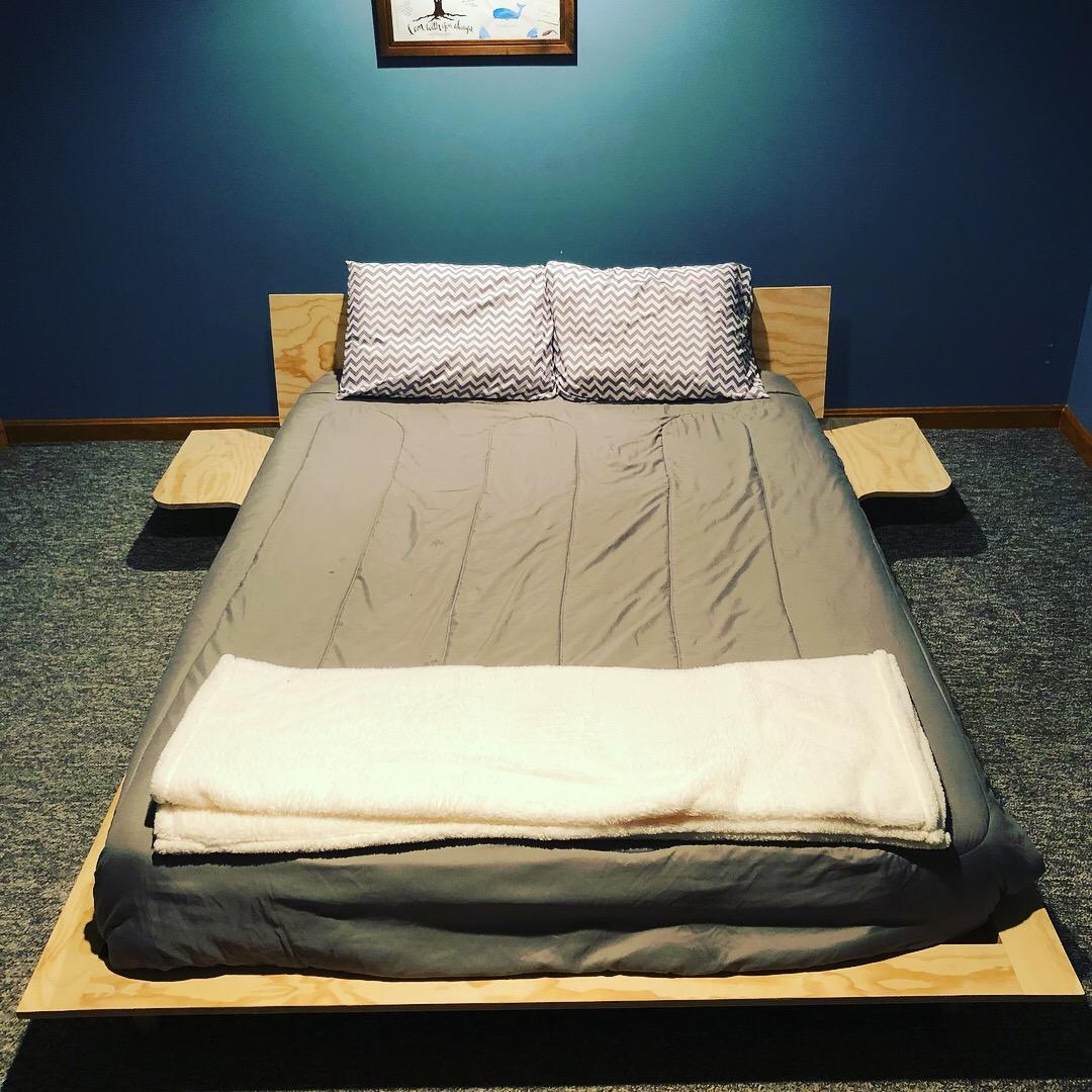 Platform Style Queen Bed Frame