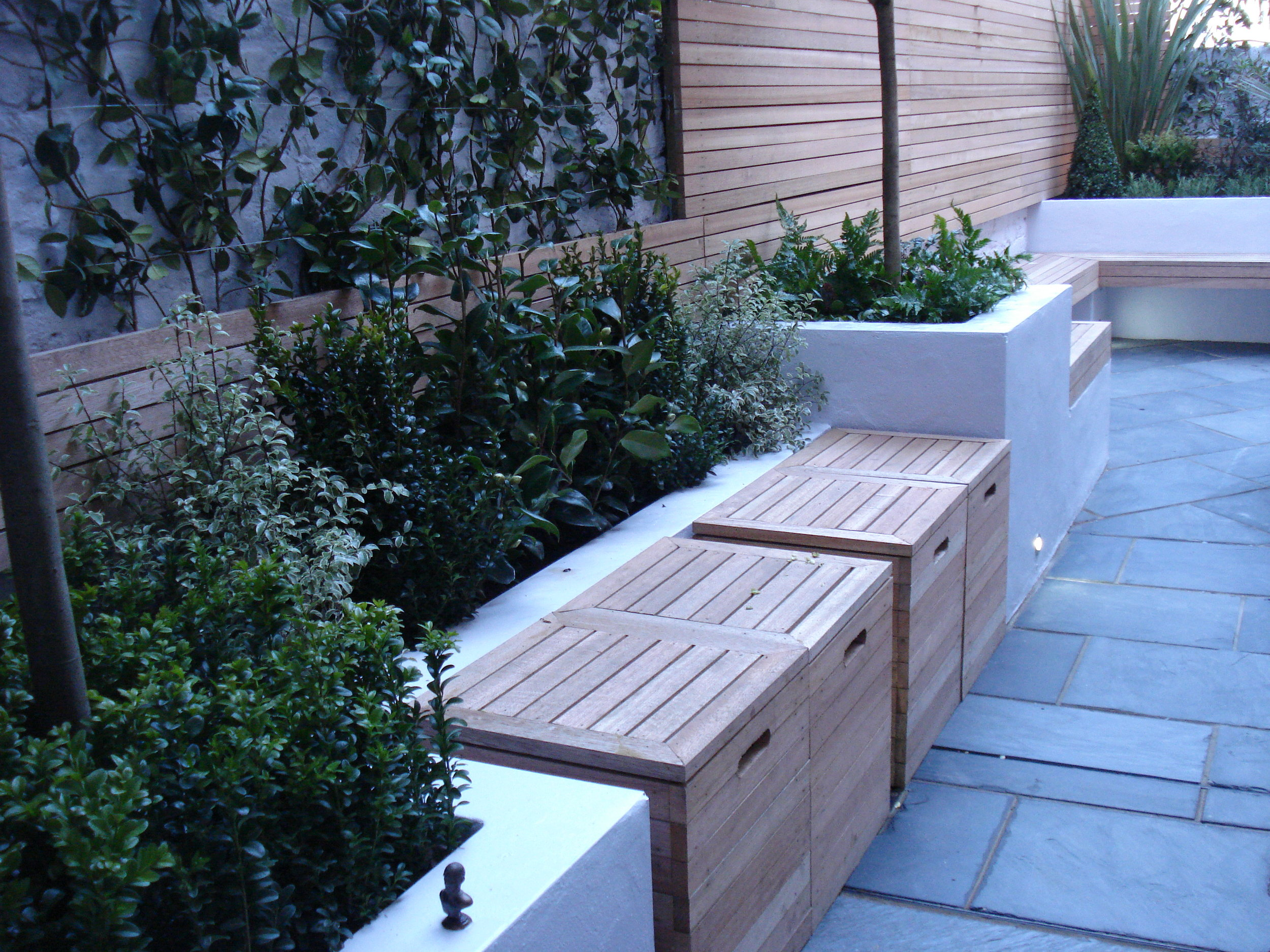 Bespoke box seating