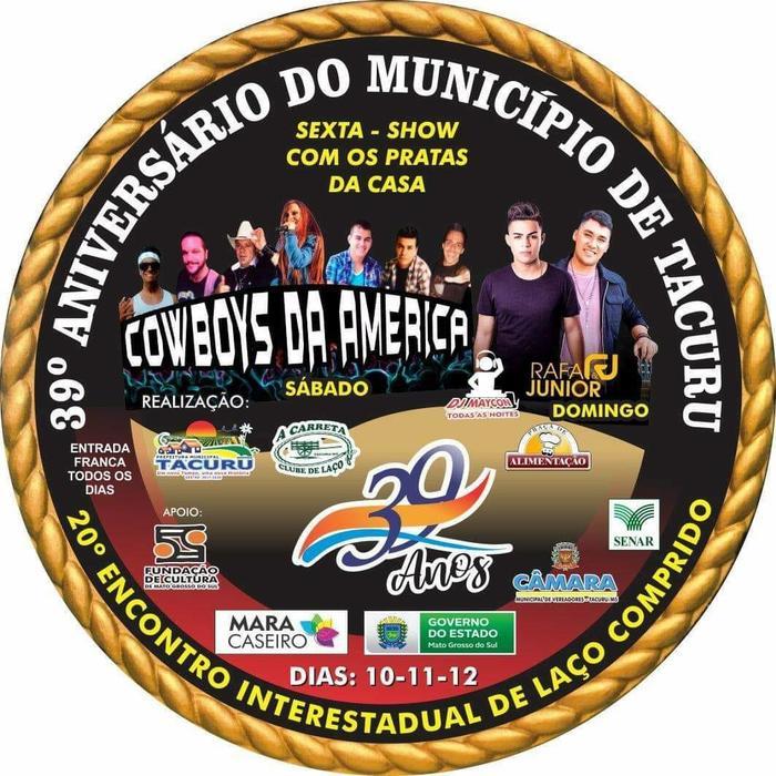 20º ENCONTRO INTERESTADUAL DE LAÇO COMPRIDO