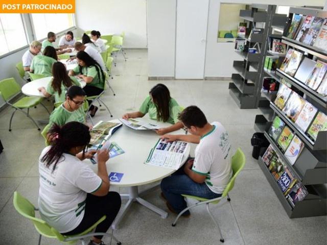Alunos do Centro de Excelência. (Foto: João Carlos Castro)