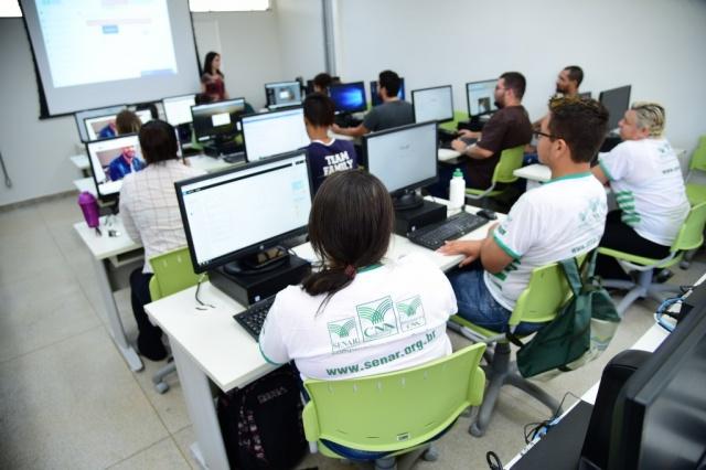 Centro conta com 170 alunos nos dois períodos. (Foto: João Carlos Castro)