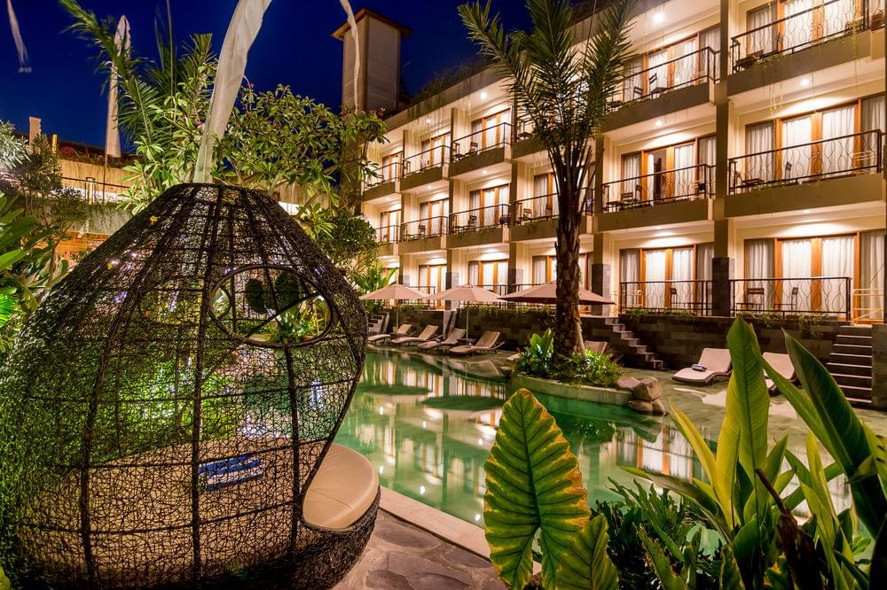 Chill'n'Work Retreat in Bali for 10 days in early February 2019
