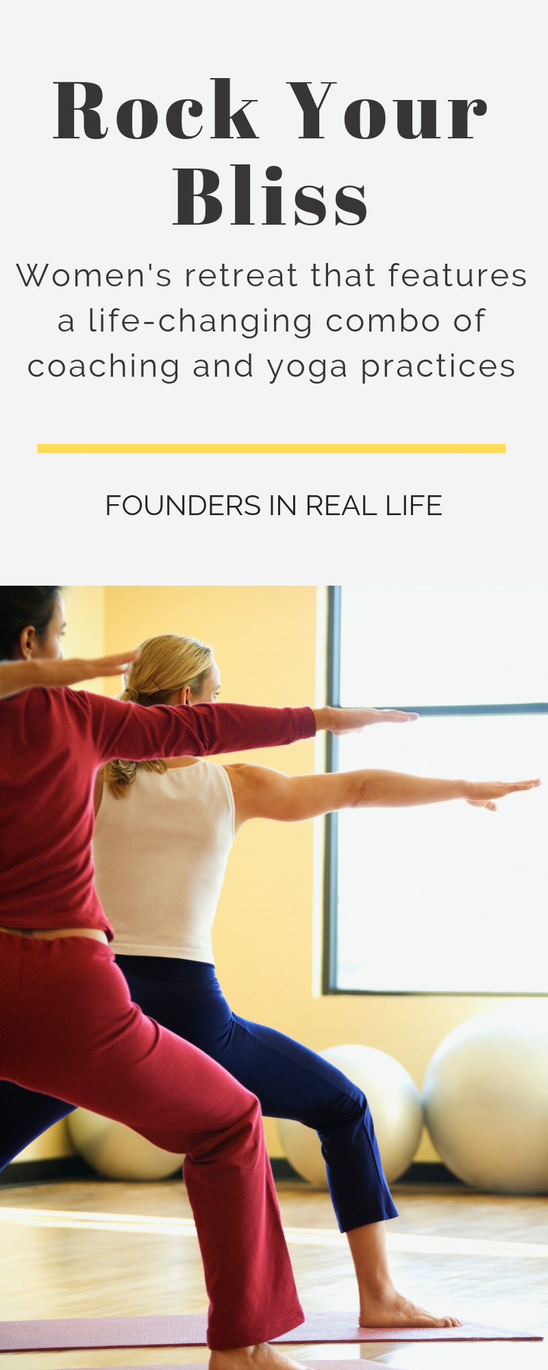 Founders in Real LIfe - Womens Business Retreats, Conferences for Women, Female Founder Community Events, Live and in person events for women