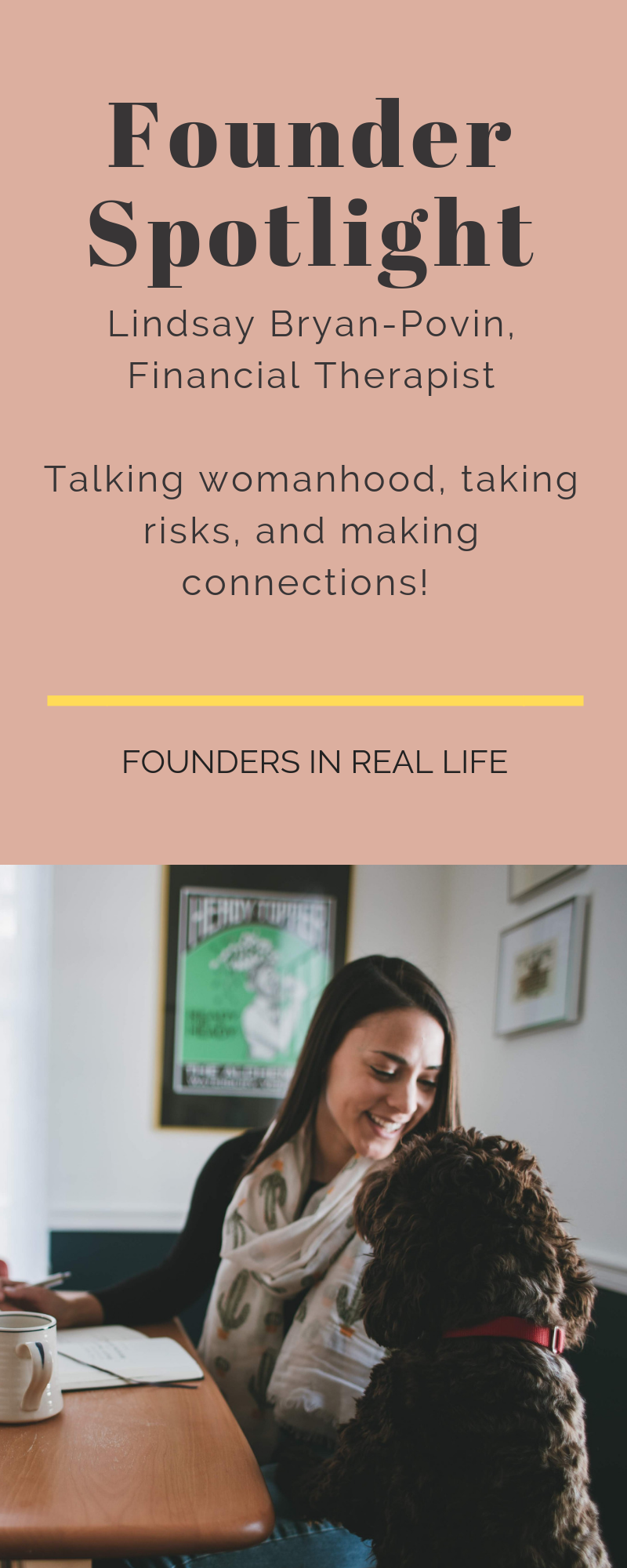 Female Creative Entrepreneur - Female Founder - What it's like to be a female founder IN REAL LIFE - Talking womanhood, taking risks, and making connections!
