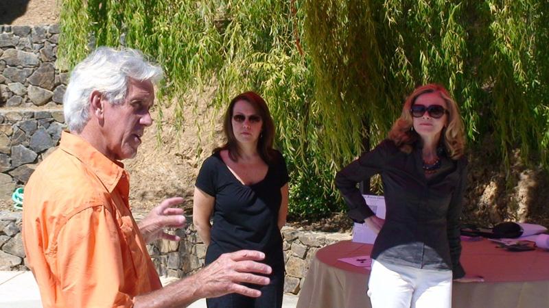 Winemaker John Fetzer of Saracina Vineyards on the site of Fetzer's original Sundial Vineyard