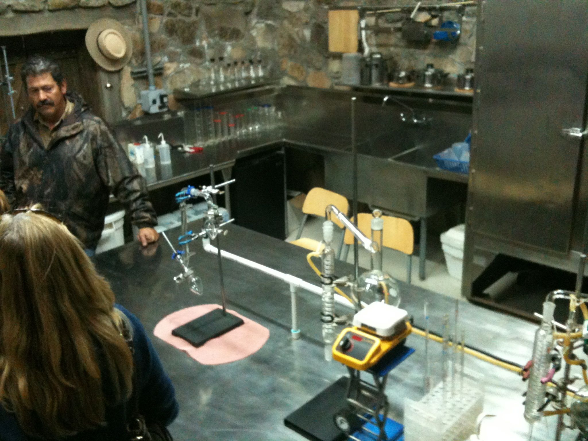 Lab at Vinas de Garza