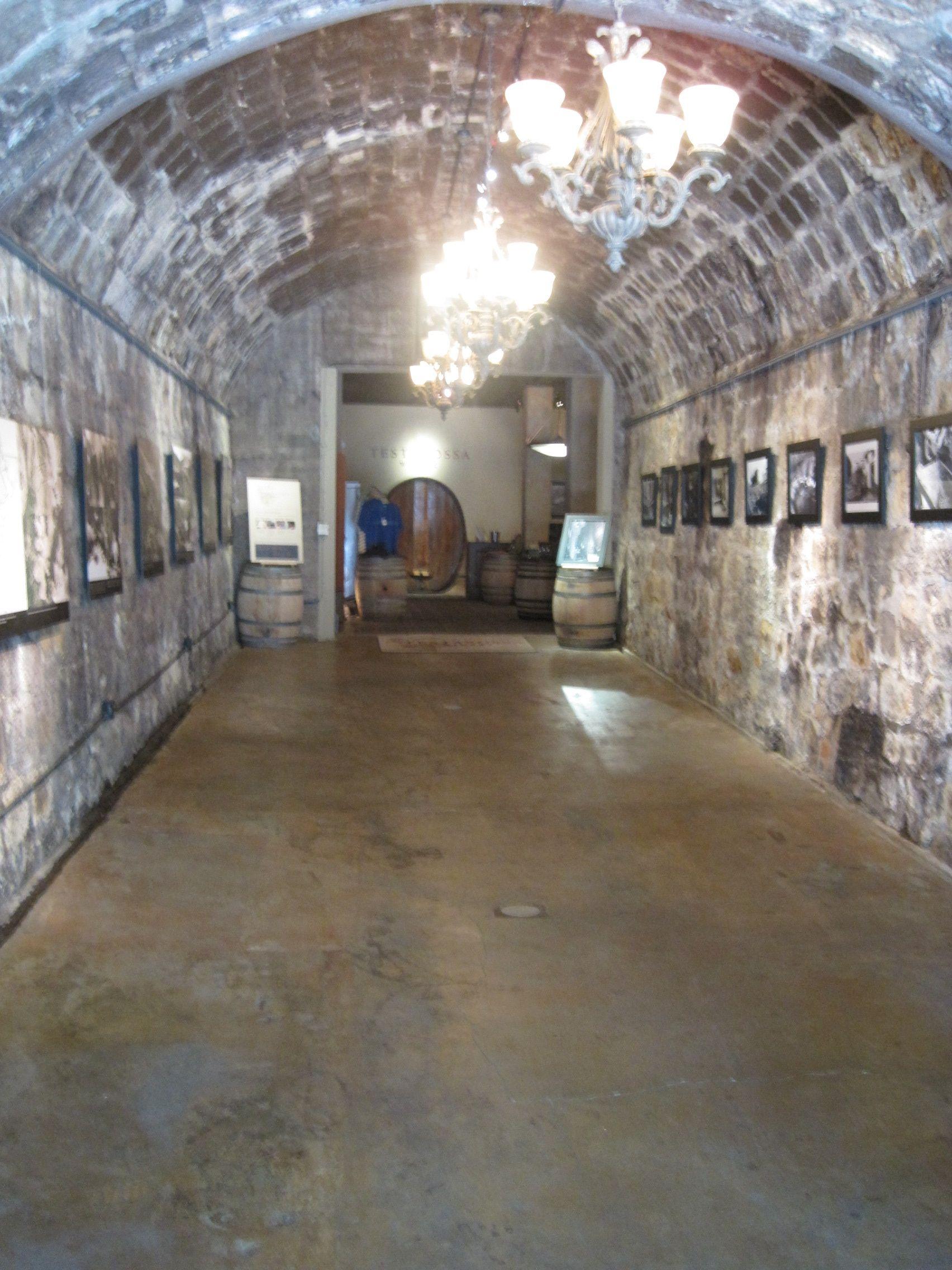 Entrance to Testarosa Winery