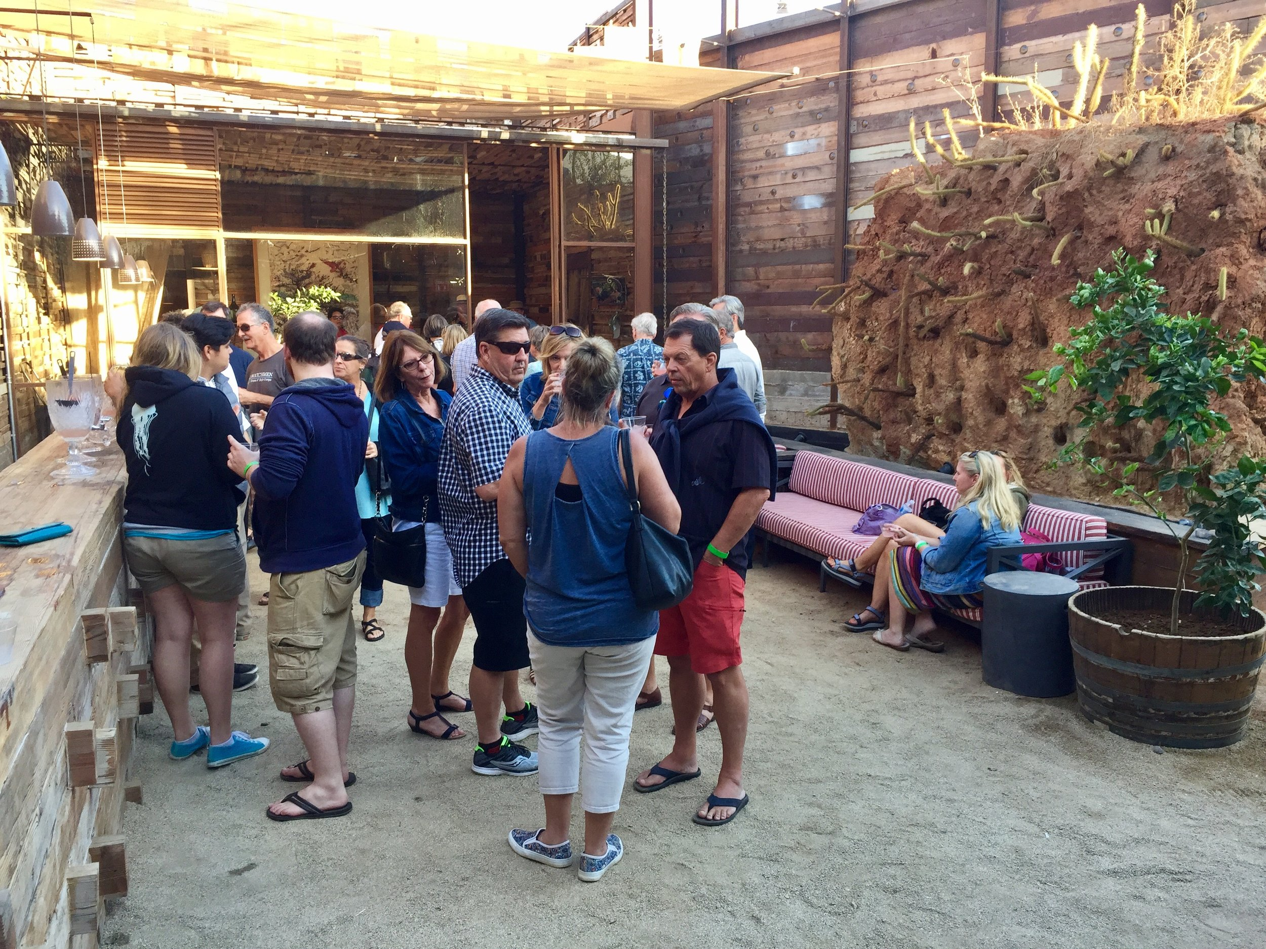 Cocktail reception at Fauna