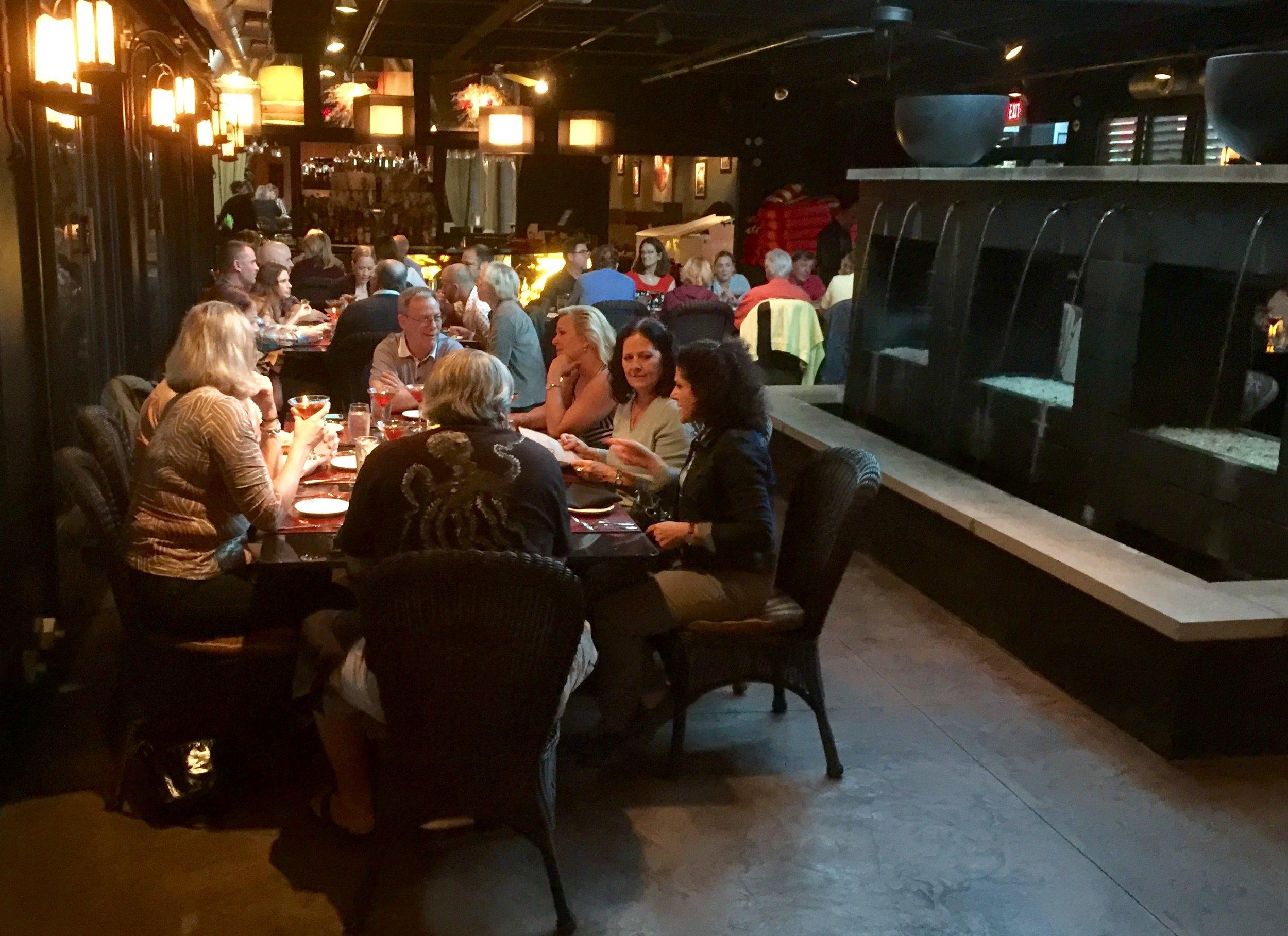 Bourbon dinner Monday night at Marketplace Restaurant.