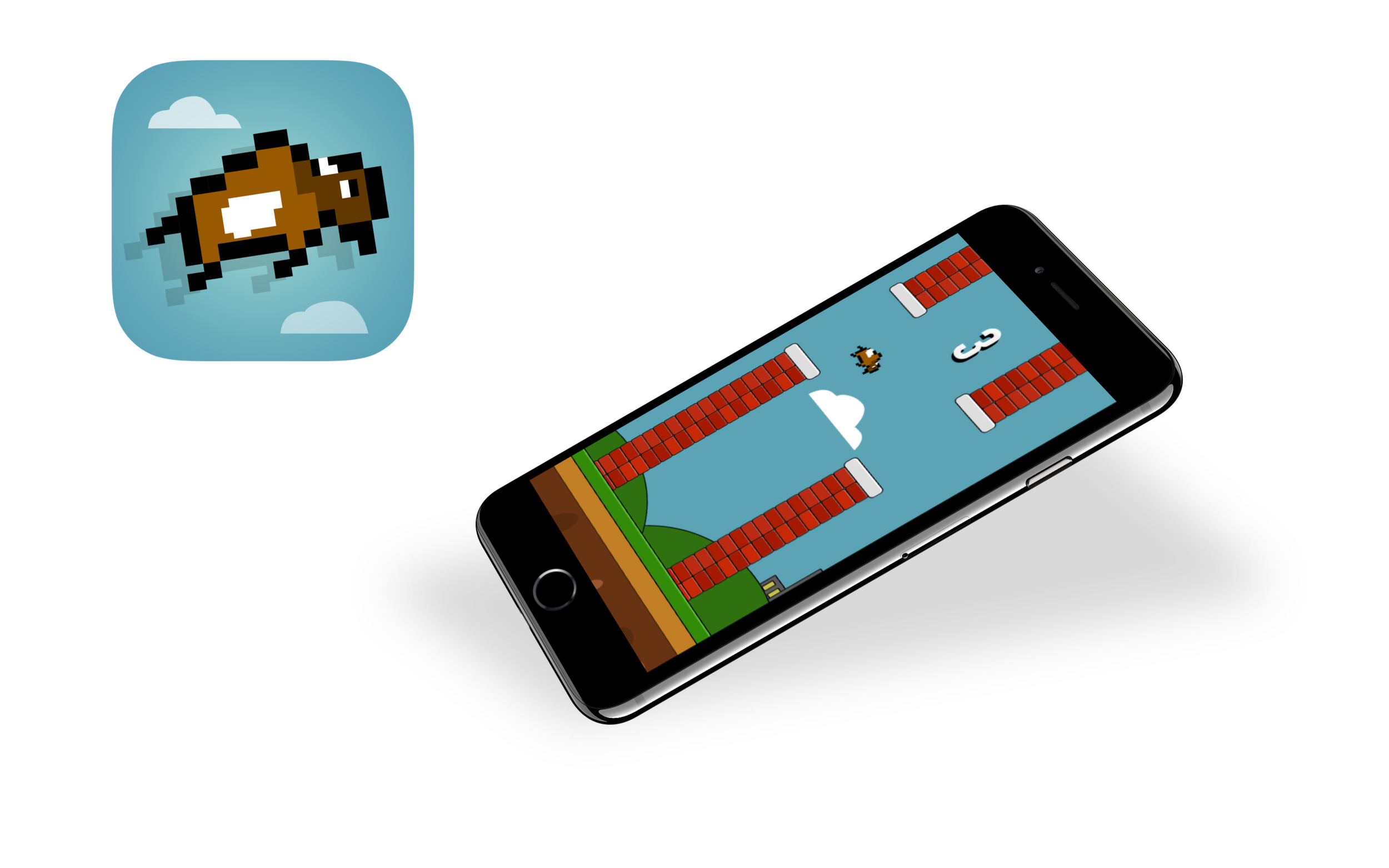 Buffalo Wings: Much-better-than-Flappy-Bird game