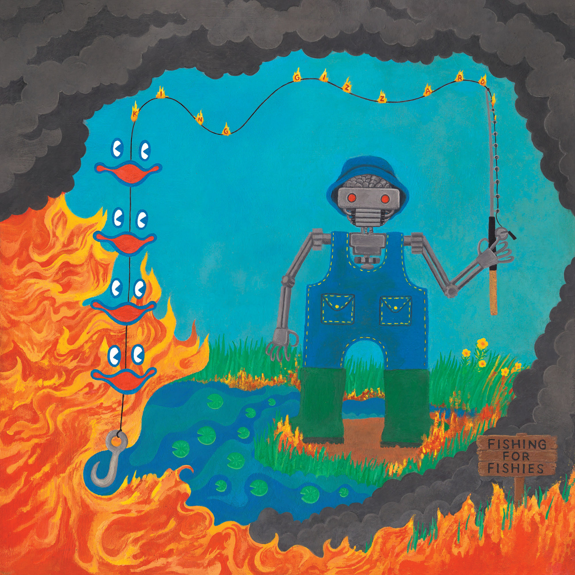 Fishing for Fishies  by King Gizzard & The Lizard Wizard (Image retrieved from iTunes-purchased MP3 file)