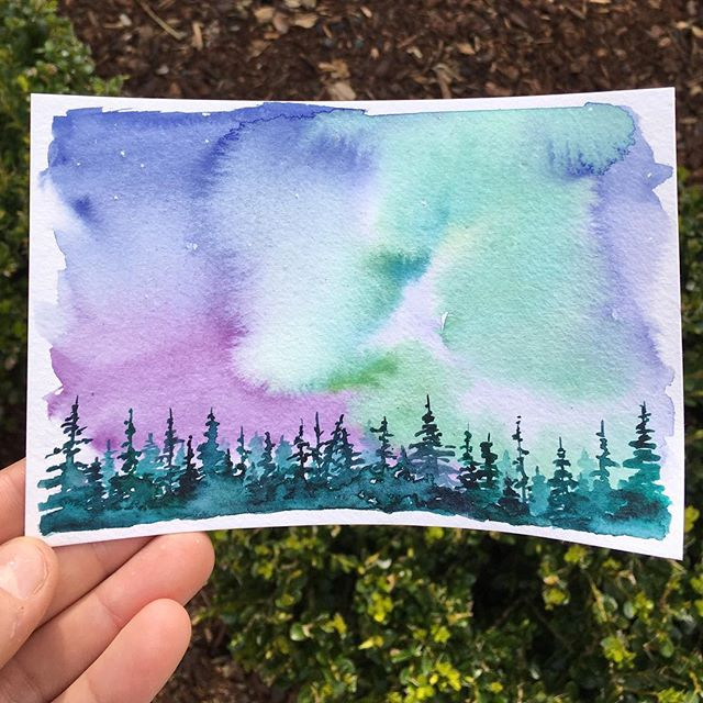 🌲 . . . . . . . . . . . . . . . . . . #art #watercolor #watercolors #watercolour #watercolours #watercolourpainting #watercolorstudy #watercolorsketch #watercolorpainting #pleinair #pleinairpainting #landscape #landscapepainting #painting #holbein #windsornewton #artgram #artistsoninstagram #instaart #instaartist #artwork #artistsofinstagram #watercolorart  #oregon #exploreoregon #qorwatercolors #danielsmith #danielsmithwatercolors