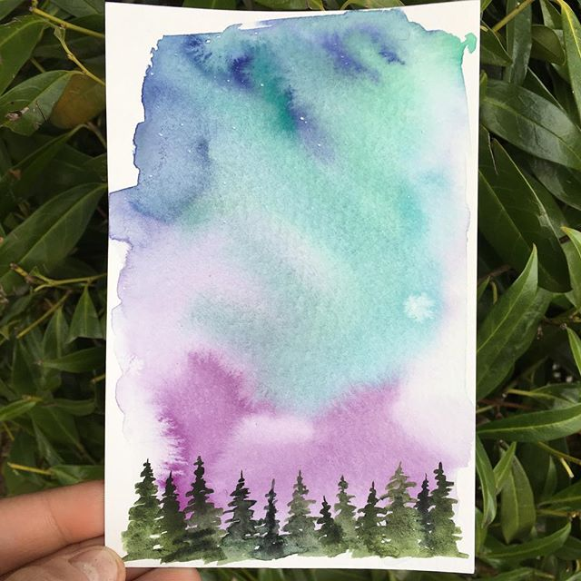 I could paint squiggle trees forever 🌲 . . . . . . . . . . . . . #art #watercolor #watercolors #watercolour #watercolours #watercolourpainting #watercolorstudy #watercolorsketch #watercolorpainting #pleinair #pleinairpainting #landscape #landscapepainting #painting #holbein #windsornewton #artgram #artistsoninstagram #instaart #instaartist #artwork #artistsofinstagram #watercolorart  #oregon #exploreoregon #qorwatercolors #danielsmith #danielsmithwatercolors