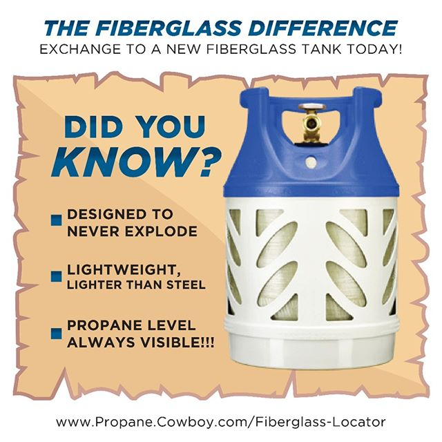 The Fiberglass Difference is clear... so clear you can see through it! 👀👀 #FiberglassPropane  Explore the newest innovation to the propane industry with @Propane_Cowboy ! 🤠  DM us 💬  #todayilearned #nowyouknow #themoreyouknow #iwastodayyearsold #iwastodayyearsoldwhenifoundthisout #greenproduct #ecofriendly #ecofriendlyhomes #propaneexchange #propanerefill #propanetank #propane #propaneandpropaneaccessories