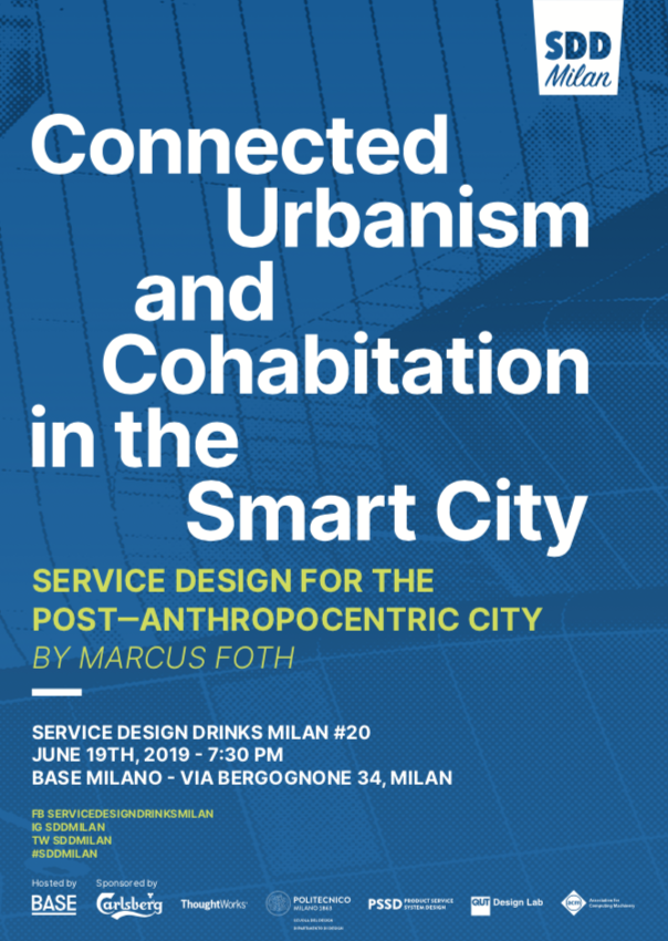service design drinks milan 20 connected urbanism and cohabitation in the smart city