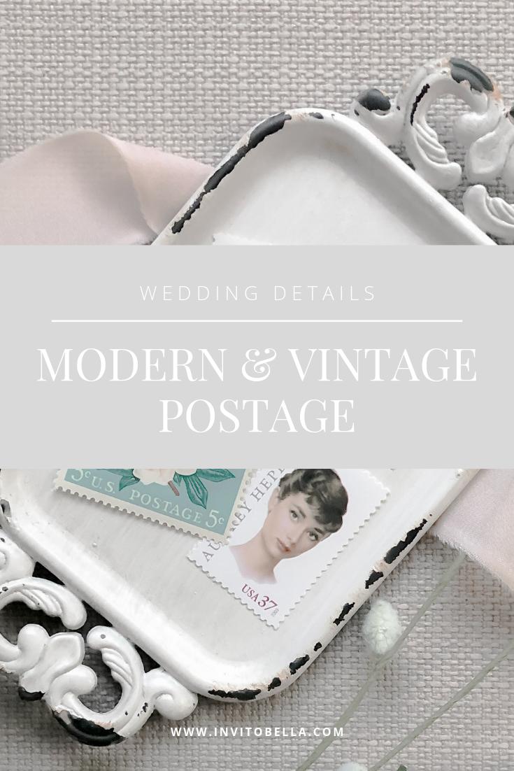Modern and Vintage Postage