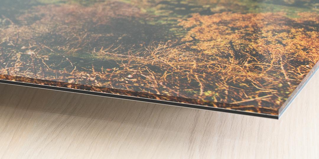 Acryllic Dibond Mounted UV Print.  Plexiglass laminated onto a Dibond plate.
