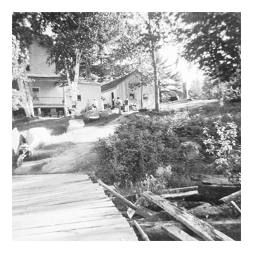 Fish Camp dock