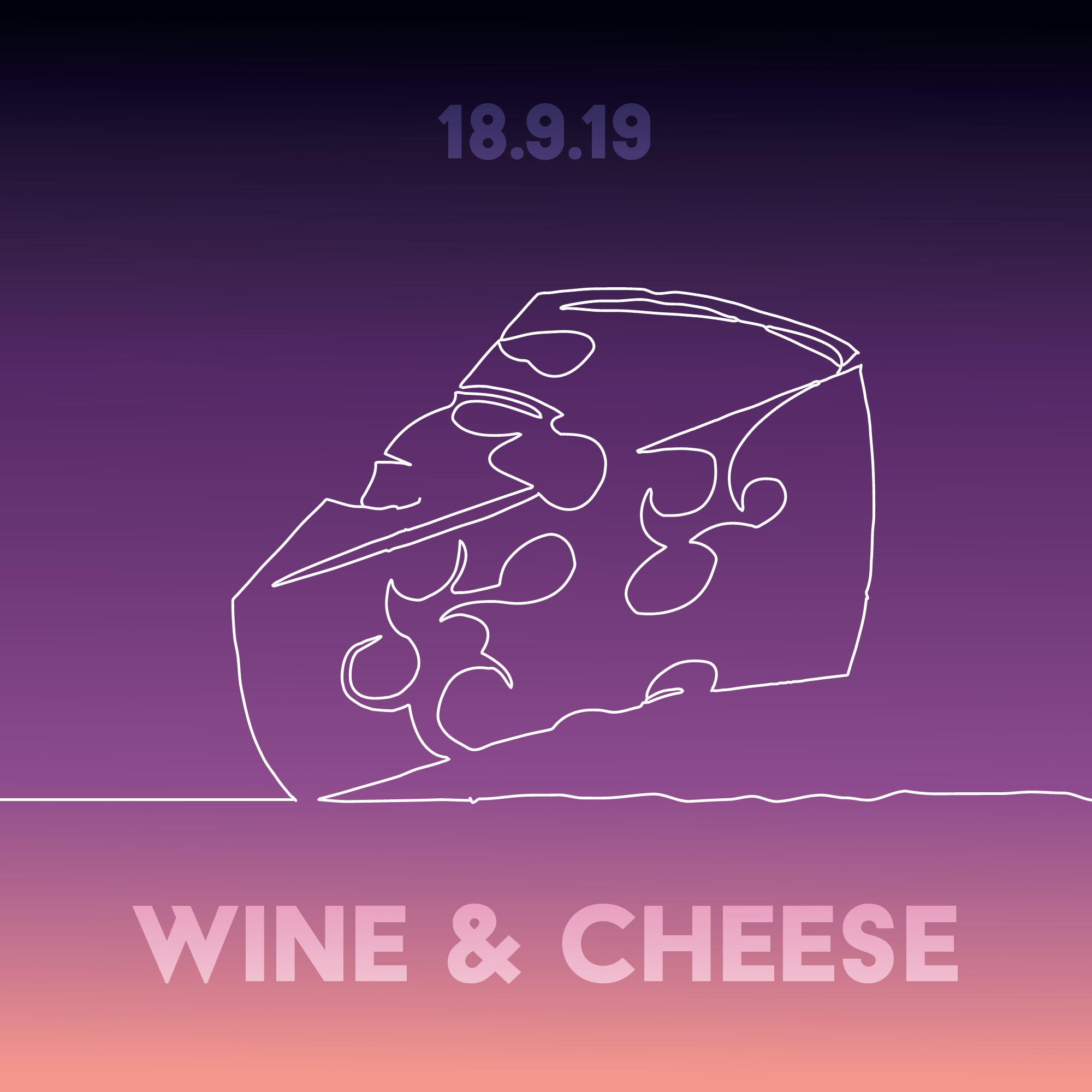 Wine & Cheese - Self explanatory…cheese selection from Madame Fromage, wine, live jazz band and hummus society! Sit down and unWINEd. Wednesday 18 September 8pmLocation RWSUEntry Doors £4 (Free with 2019 wristband)