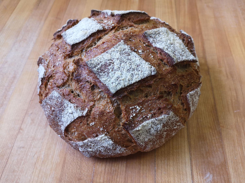 Le pain 100% à l'épeautre × 4.50$