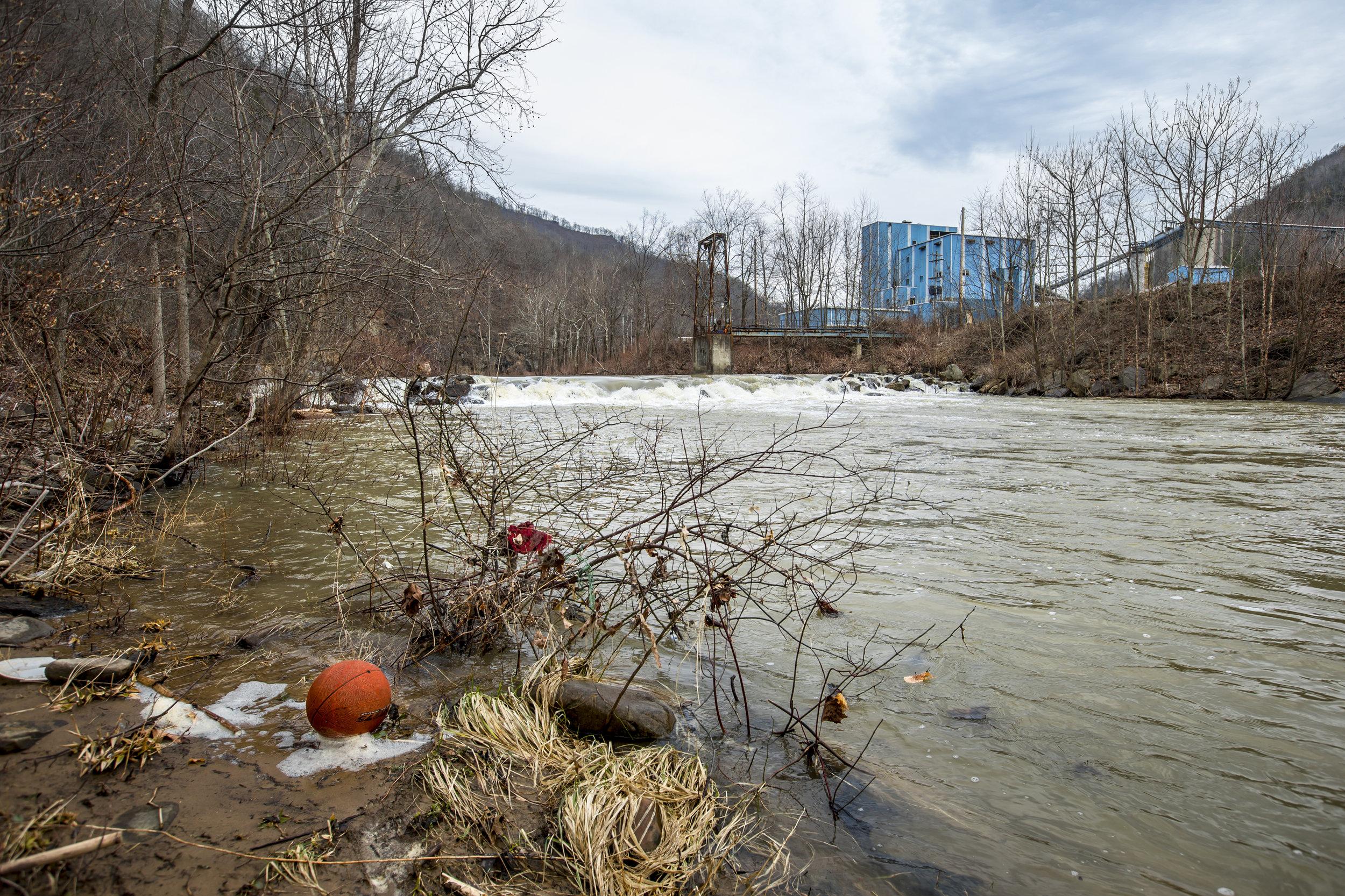 Coal Building and Landscape near Naoma, West Virginia, February 20, 2014.jpg