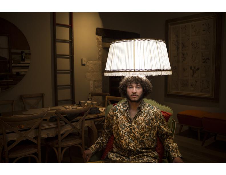 Tyler Burgett, Human Lamp Post.jpg