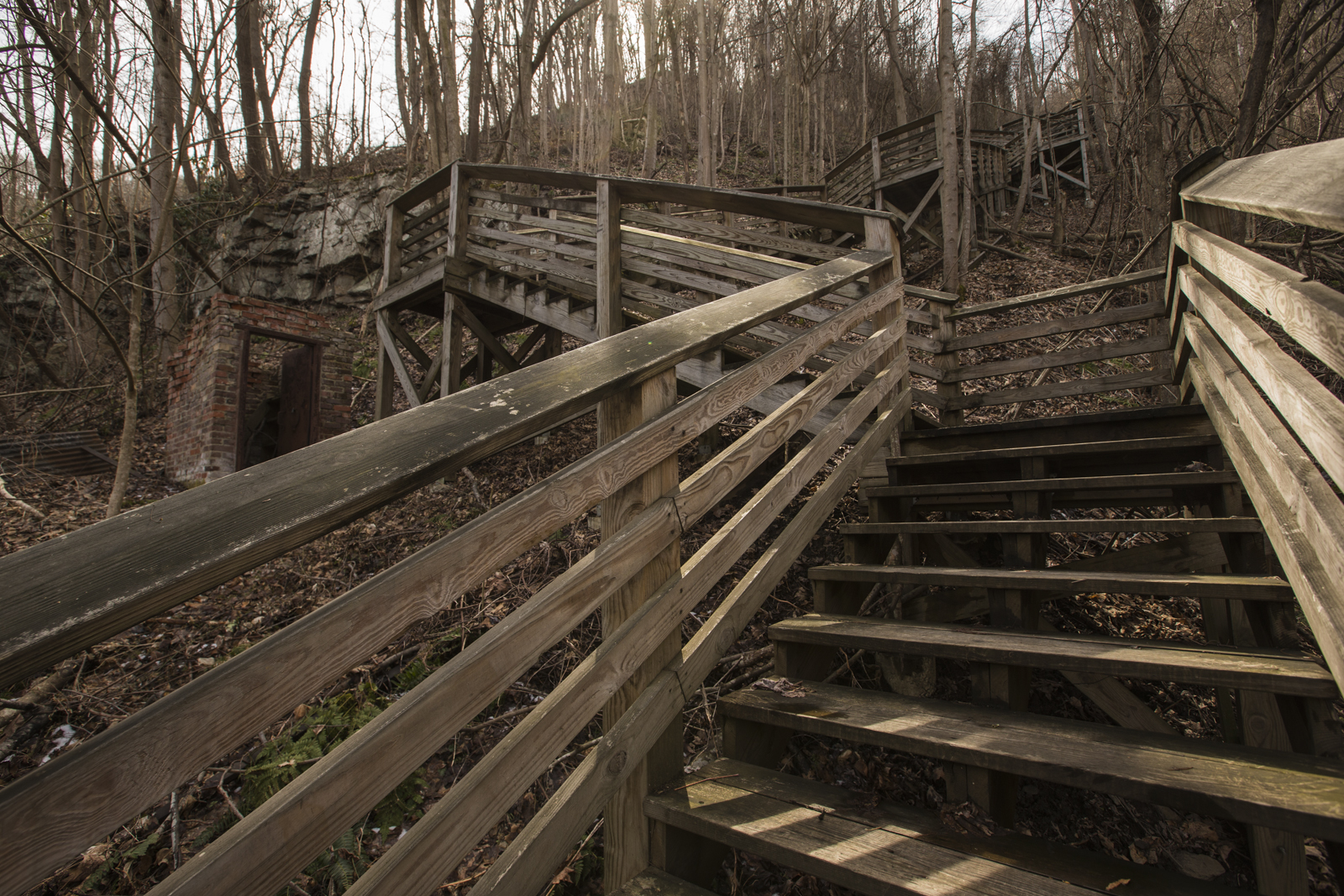 kaymoor-miners-trail-at-brick-shed-on-march-14-2014.jpg
