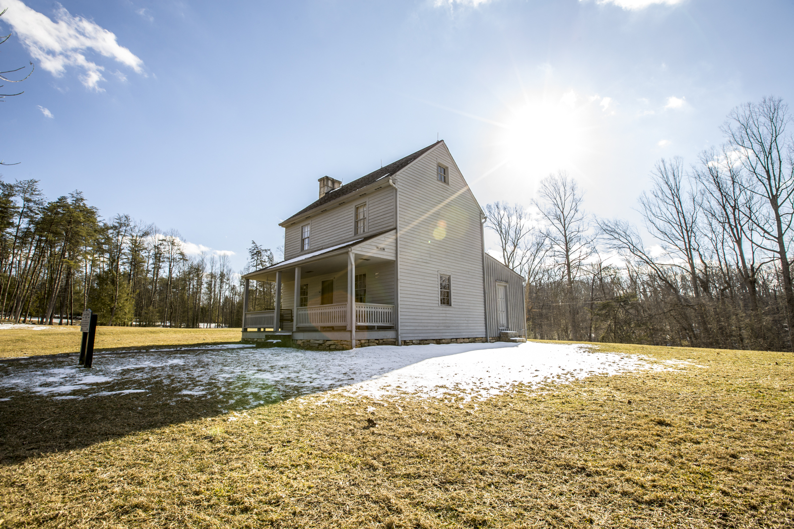 Henry Patterson House at Carnifax Ferry Battlefield in Southern West Virginia