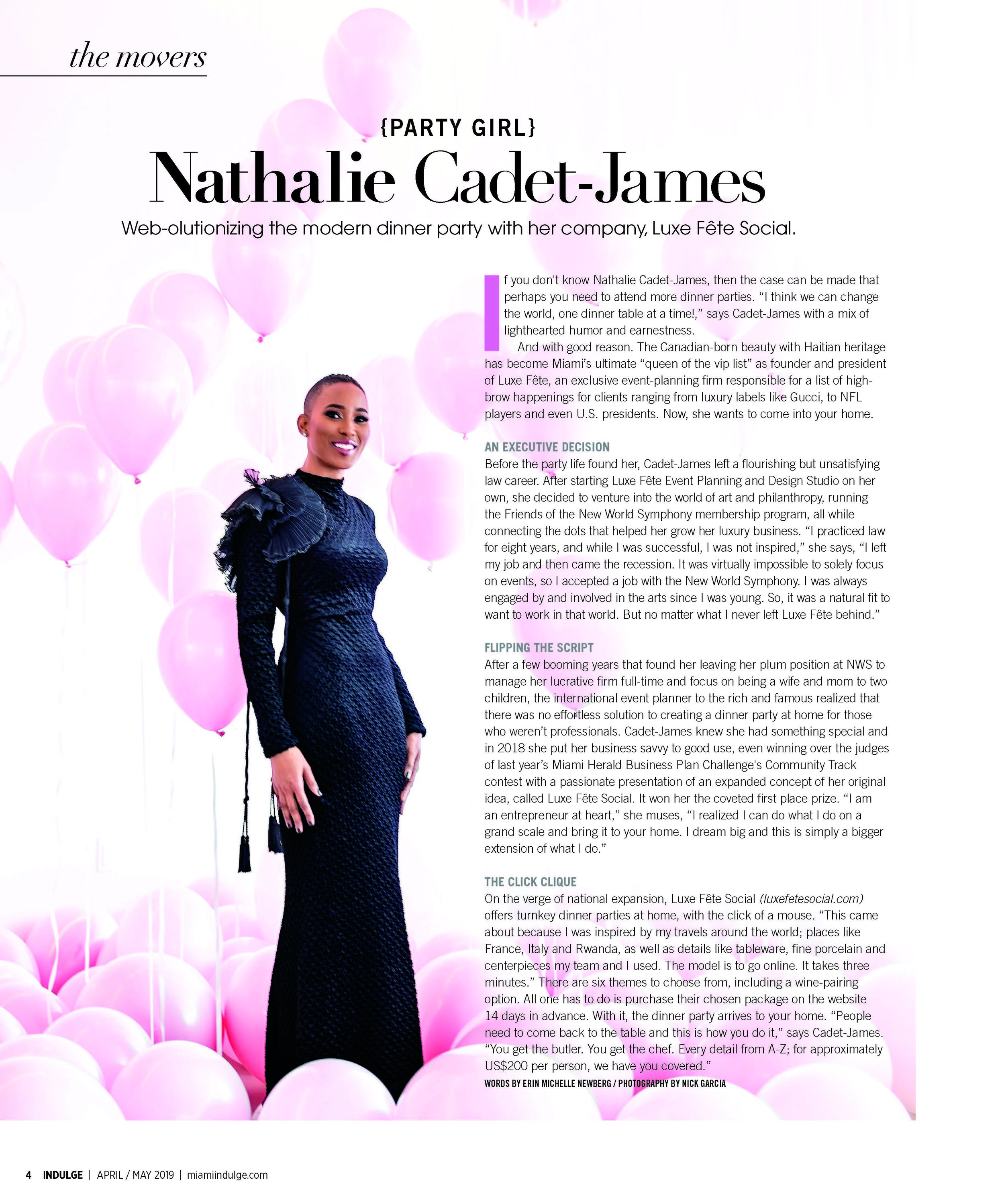Indulge Miami Magazine