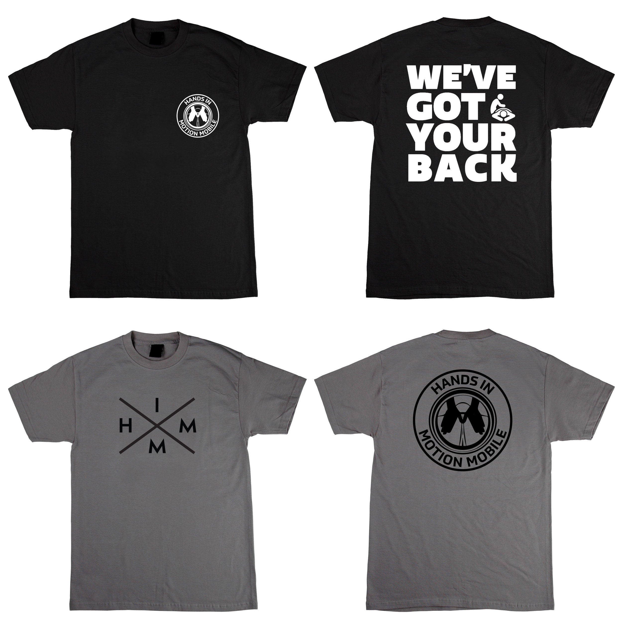 T-shirts Designs for  Hands In Motion  Designed by  S. Robinson
