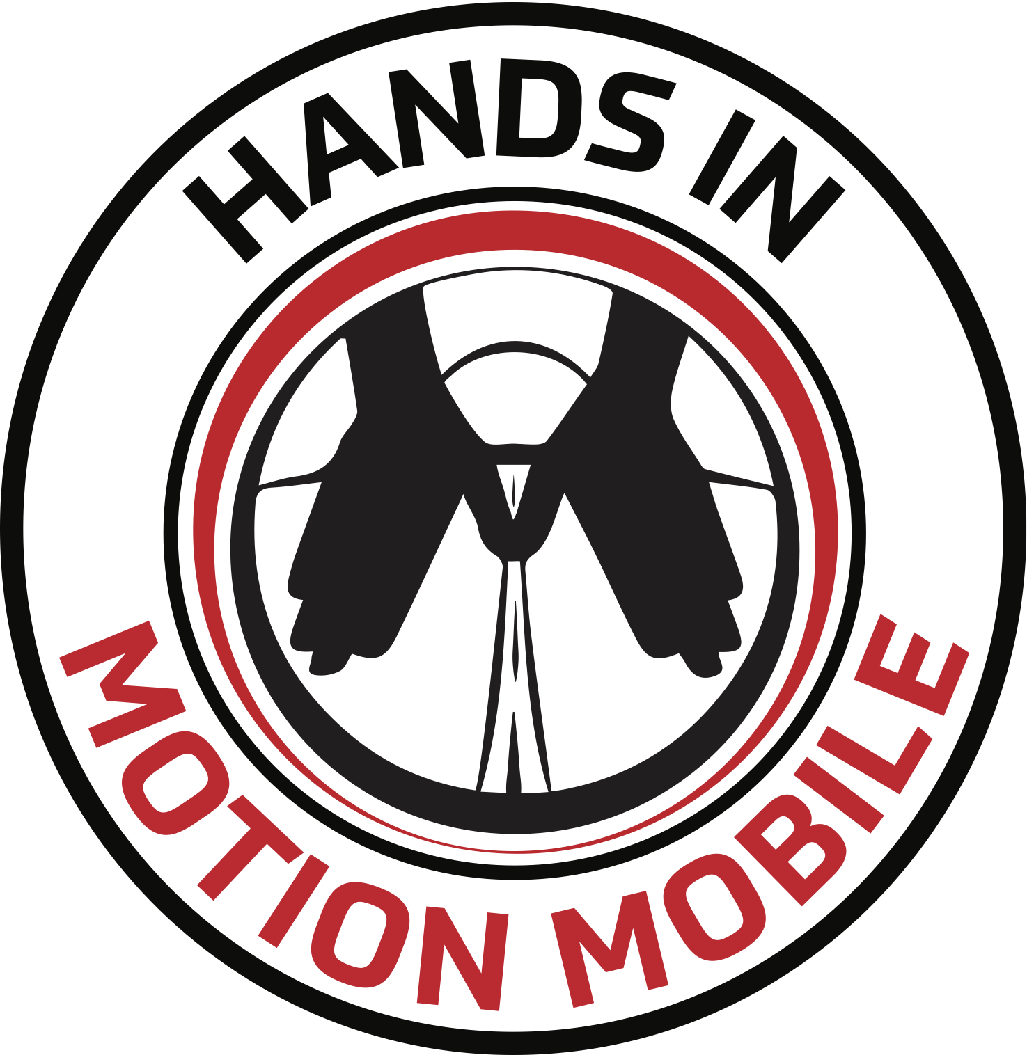 Designed for  Hands In Motion Mobile  by  S. Robinson