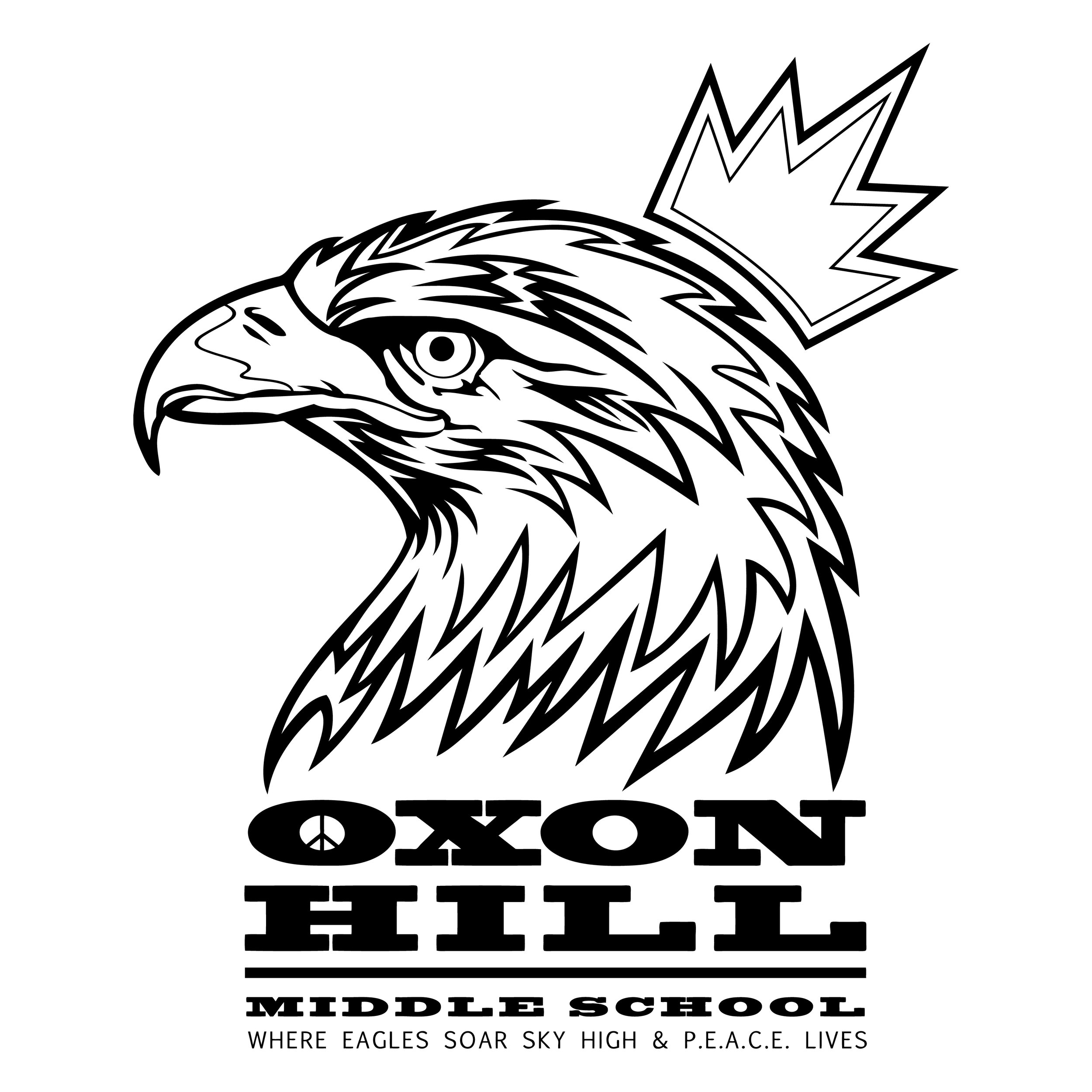Designed for  Oxon Hill Middle School  by  S. Robinson