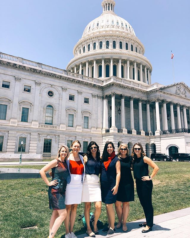 """Never doubt that a small group of thoughtful, committed, citizens can change the world. Indeed, it is the only thing that ever has."" - Margret Mead  Honored to take on Capitol Hill with some of brightest and smartest in our nutrition field. #advocate #makeyourvoiceheard #vote #RDN #Rdforchange"