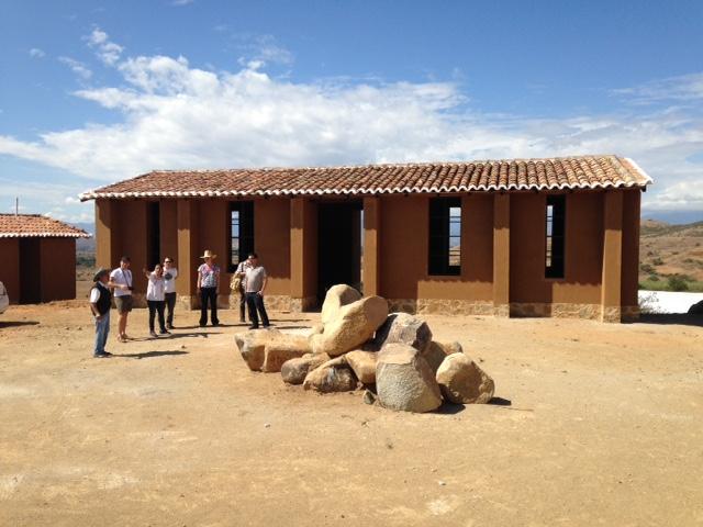 SACRED raised money  to help build Biblioteca el Rosario in Santa Catarina Minas, Oaxaca