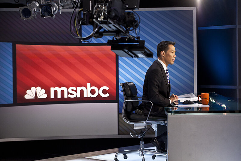 MSNBC's Richard Lui (Photo by Anthony Quintano)