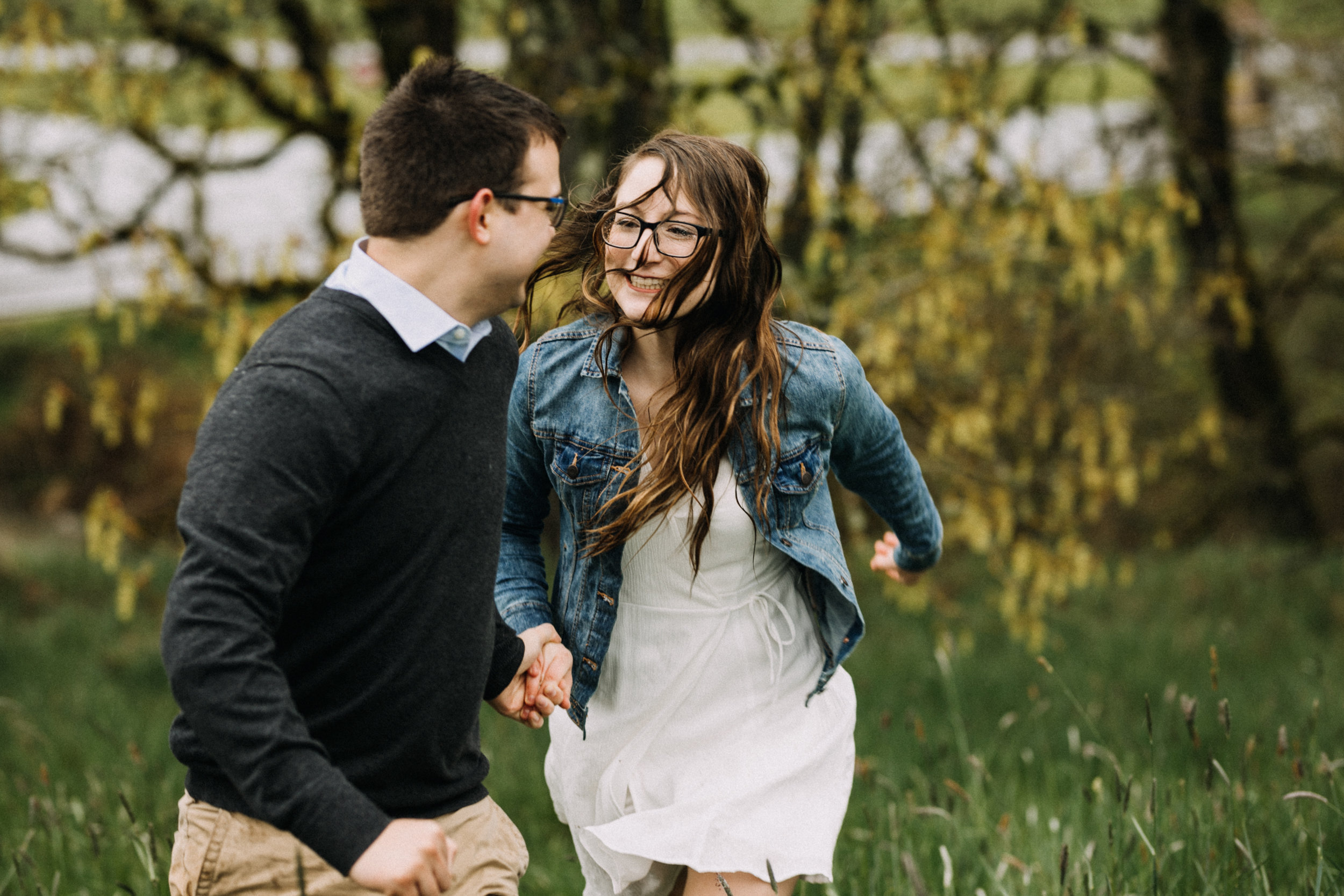 Champoeg State Park Engagement - Champoeg, Or